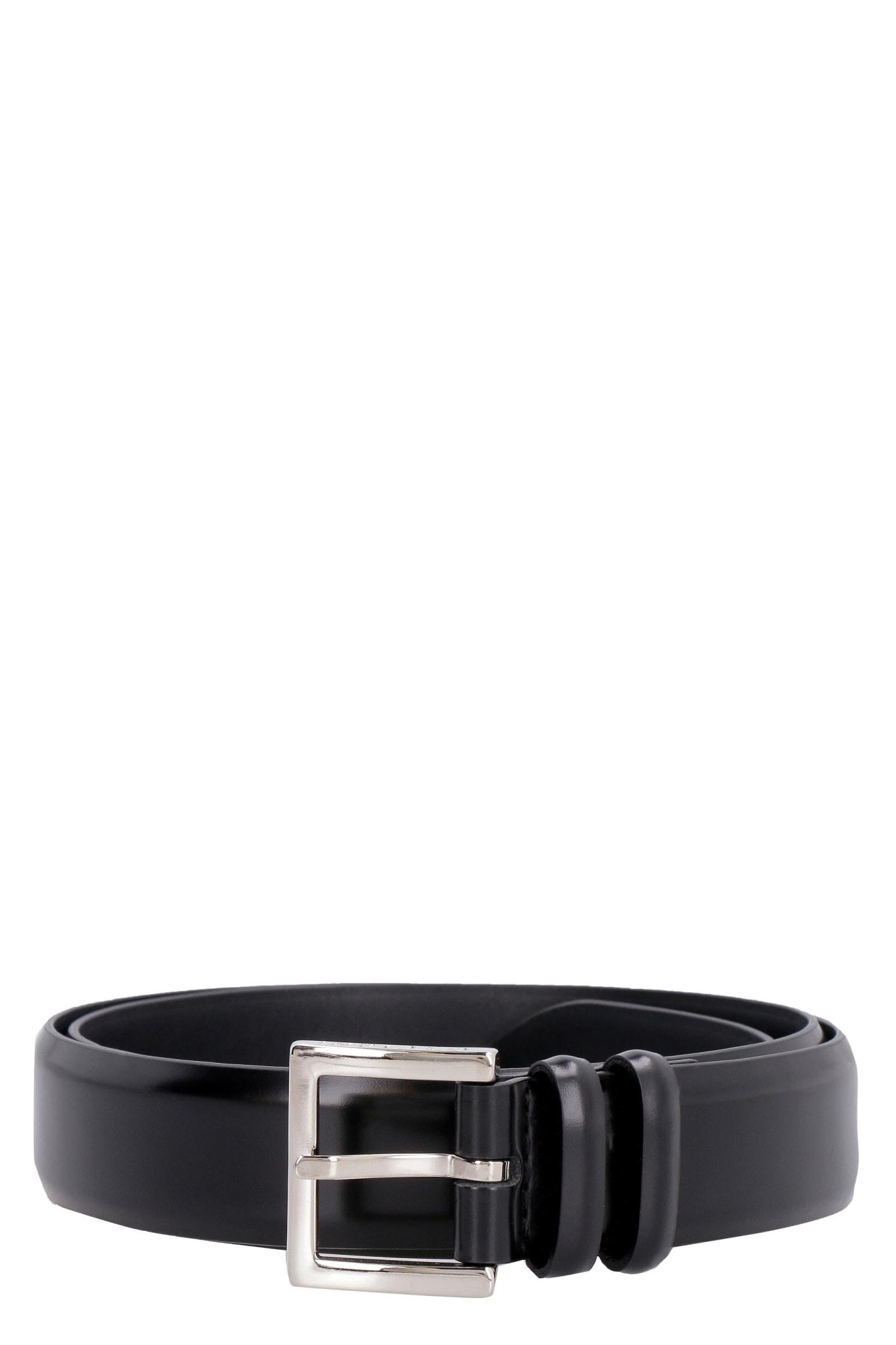 Orciani Toledo Leather Belt