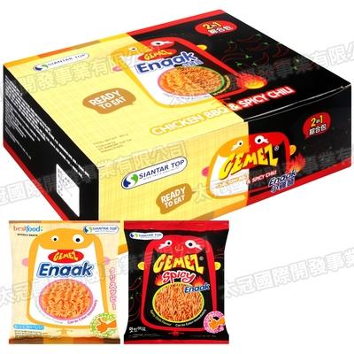 Enaak 綜合點心麵小雞麵 隨手包1盒(450g)