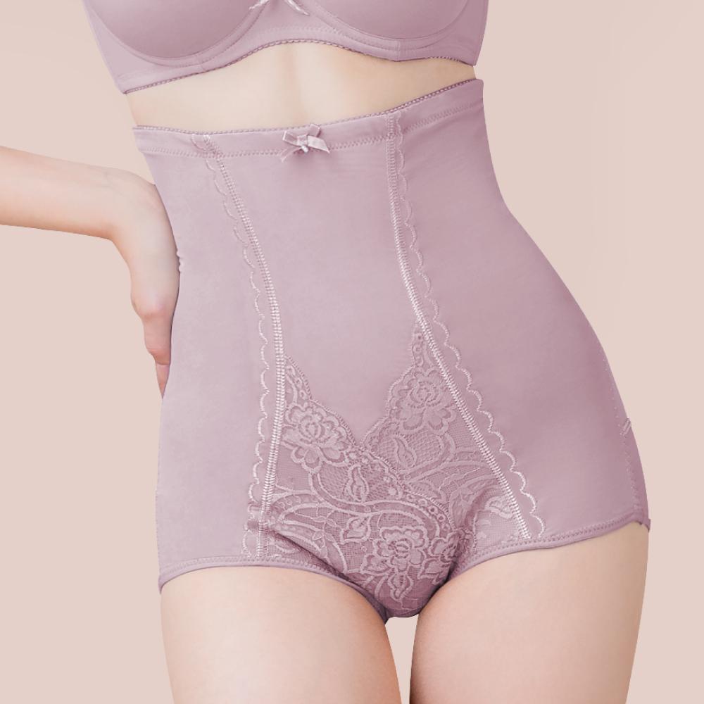 可蘭霓Clany MIT台灣製暖宮高腰遠紅外線M-2XL塑身褲 (優雅紫 1933-91) 加大尺碼 產後塑身