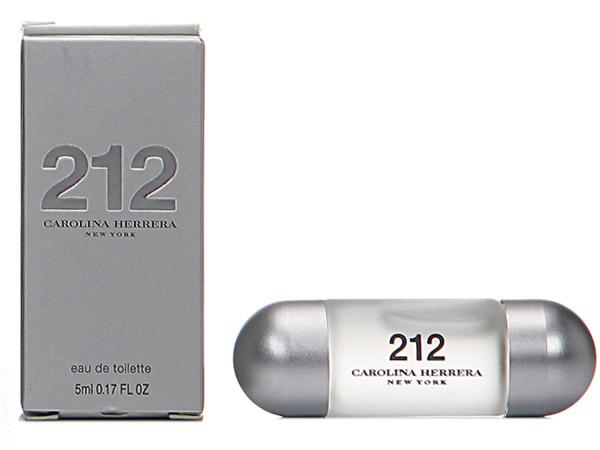 Carolina Herrera~212 都會女性淡香水(5ml)【D259023】