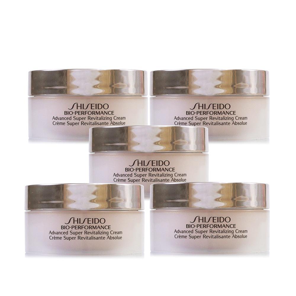 SHISEIDO資生堂 百優精純乳霜18ml x5 共90ml容量補充超值組 廠商直送 現貨