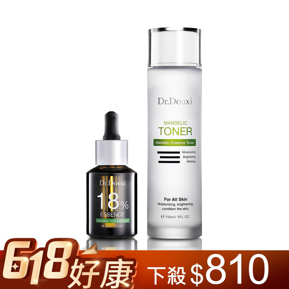 【618限定】杏仁酸精華液18% 30ml+杏仁酸化妝水 150ml