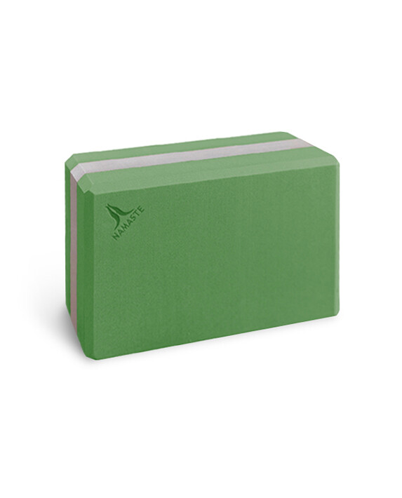 namasteyoga block (m) - green  大磚-綠色