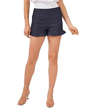 1.state Ruffled Hem Shorts