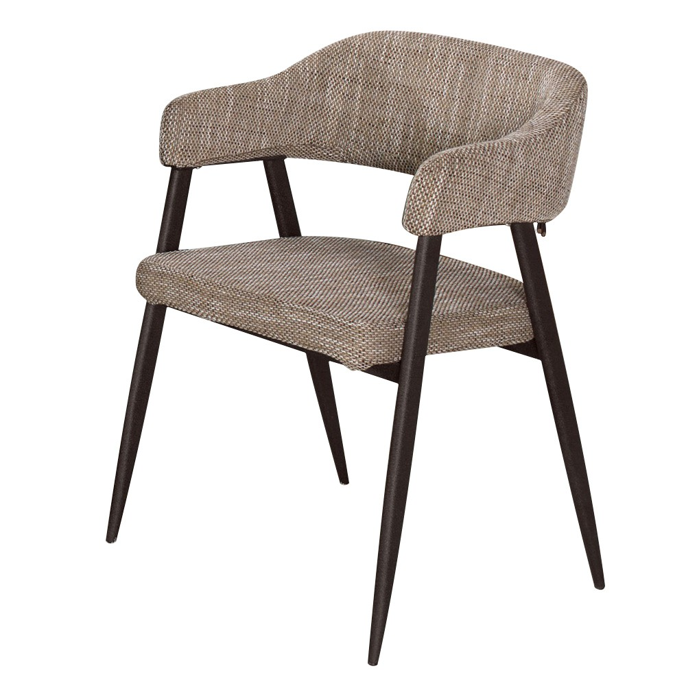 Boden-蘇瑞克工業風扶手餐椅/單椅(兩色可選)
