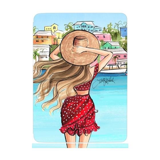 CASETiFY iPad Mini (2019) Roller Case - Vacation Girl iPad Case