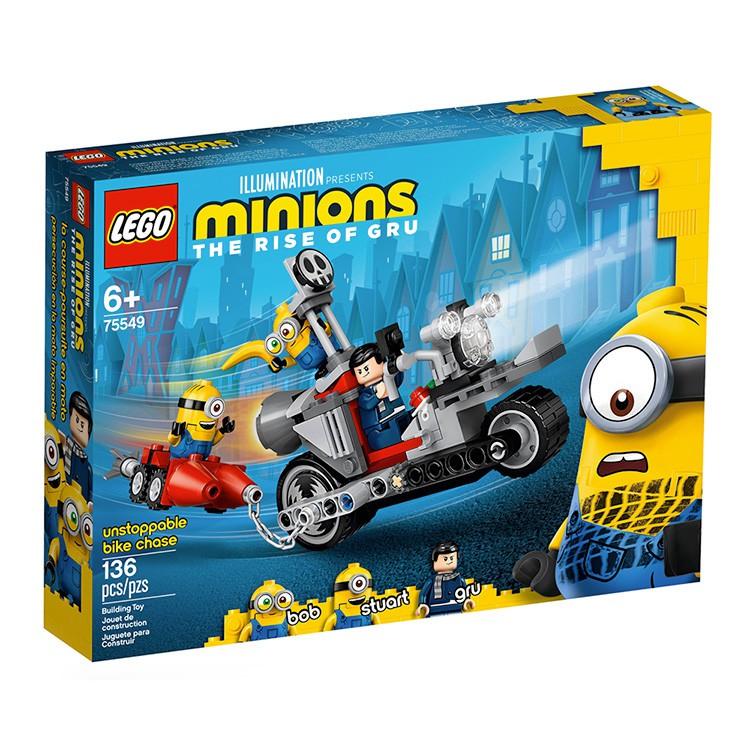 LEGO 75549樂高 小小兵電影系列 Unstoppable Bike Chase