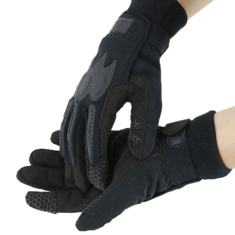 內手套戰術手套全指男抓絨軍迷耐磨戶外騎行釣魚手套【快速出貨】