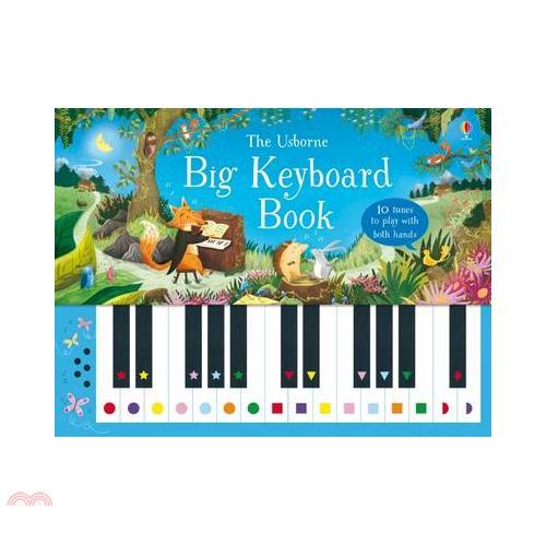The Usborne Big Keyboard Book (音效書)【三民網路書店】(精裝)[69折]