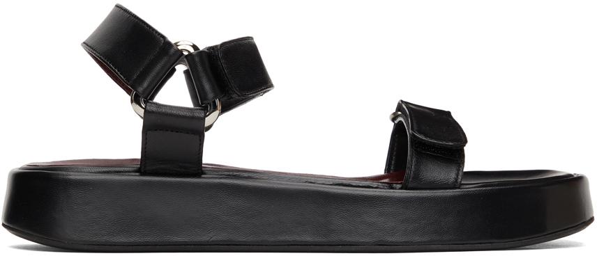 Staud 黑色 Liz 凉鞋