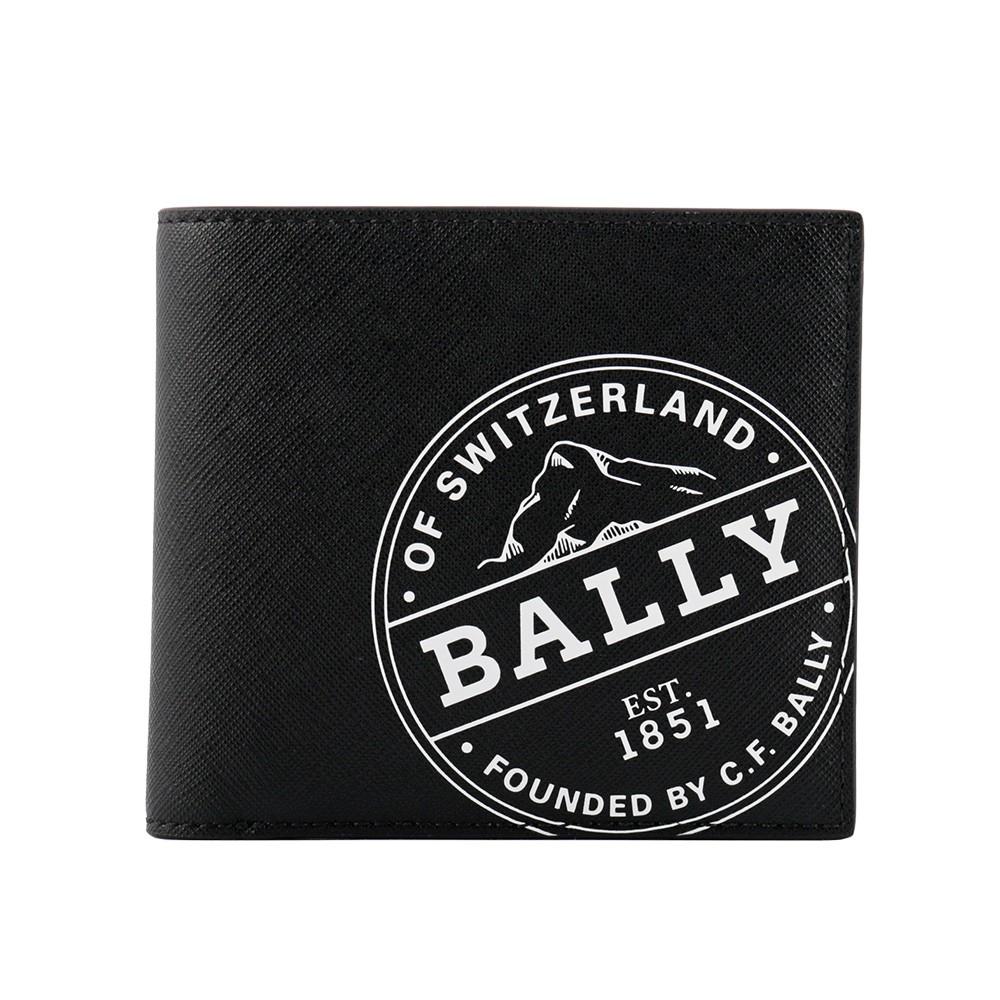 BALLY  Brasai 塗層帆布徽標短夾(黑色) 6237366 170