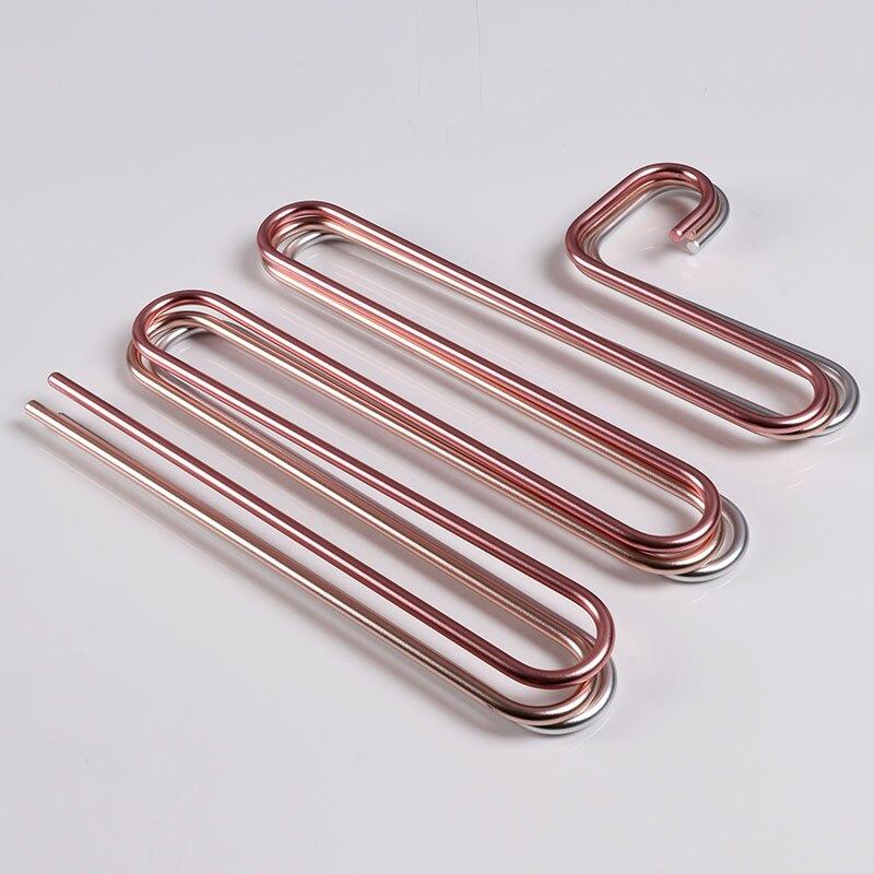 鋁合金褲架S型收納防滑多功能成人家用魔術多層不銹鋼加厚掛衣柜