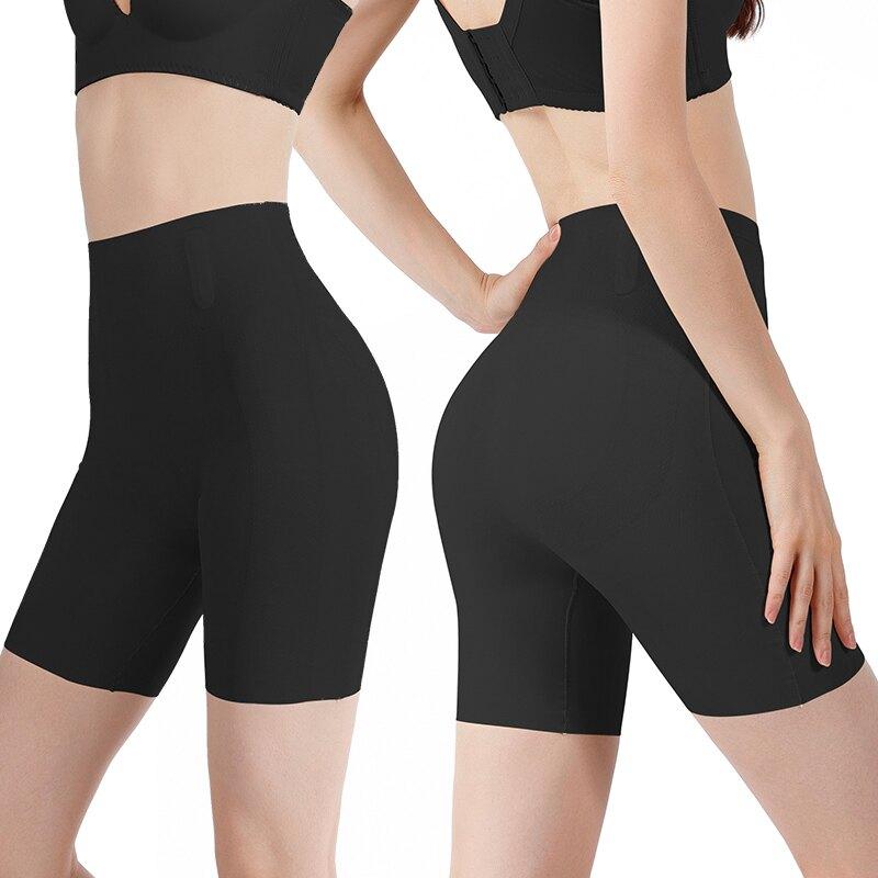 瑜伽褲 卡卡塑形瑜伽褲束腰鯊魚懸浮打底安全芭比短褲女夏季薄款『XY23375』