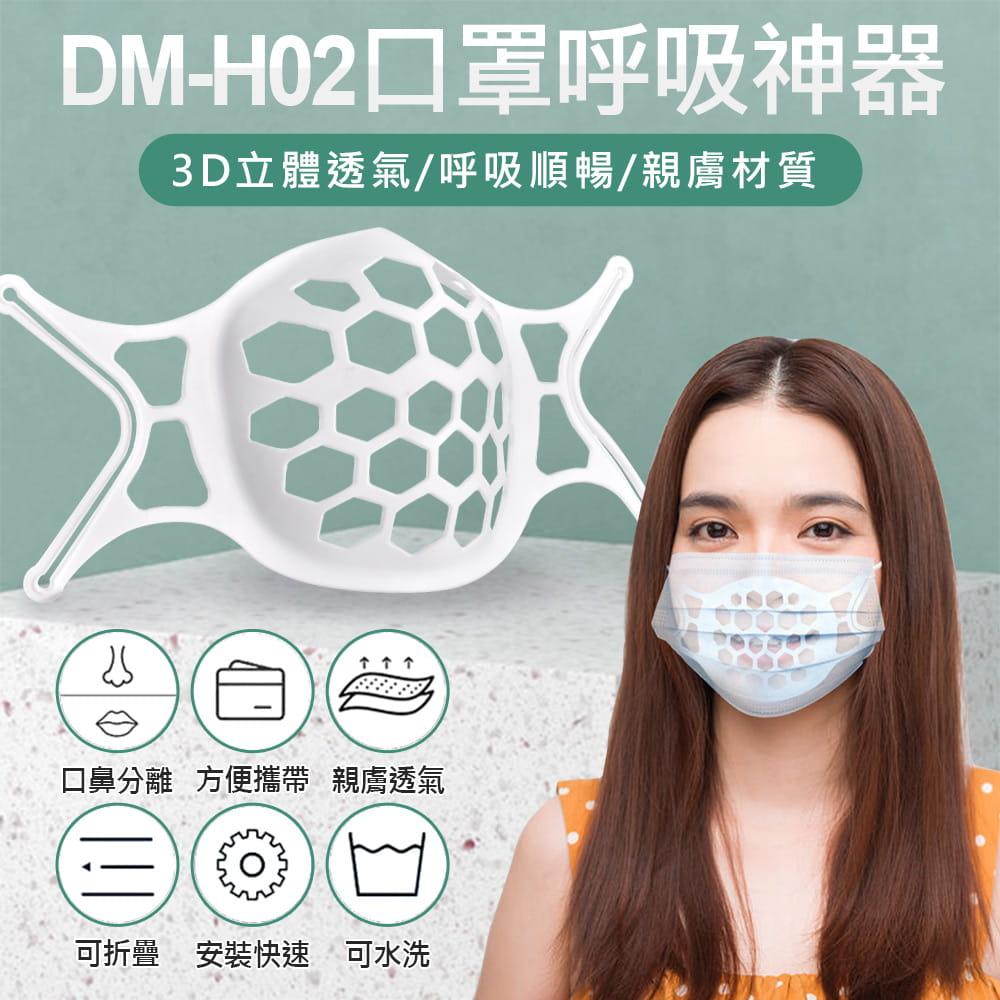 【預購】IS DM-H02 口罩呼吸神器