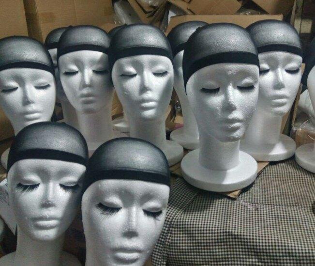 假髮展示架 假髮頭模泡沫整形女假人頭櫥窗展示支架帽子耳機抽象道具模特頭 bw6287