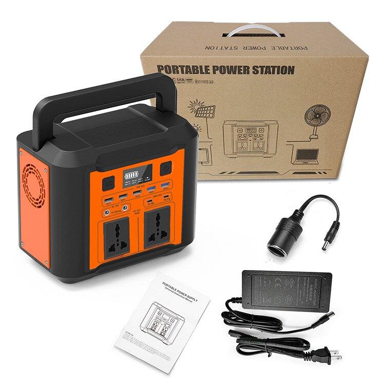 新款300W儲能電源110V美日規296Wh快充戶外電源