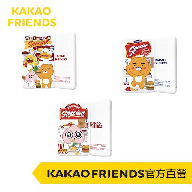 KAKAO FRIENDS 萊恩 桃子 帶線行動電源