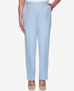 Alfred Dunner Petite French Bistro Pull-On Pants