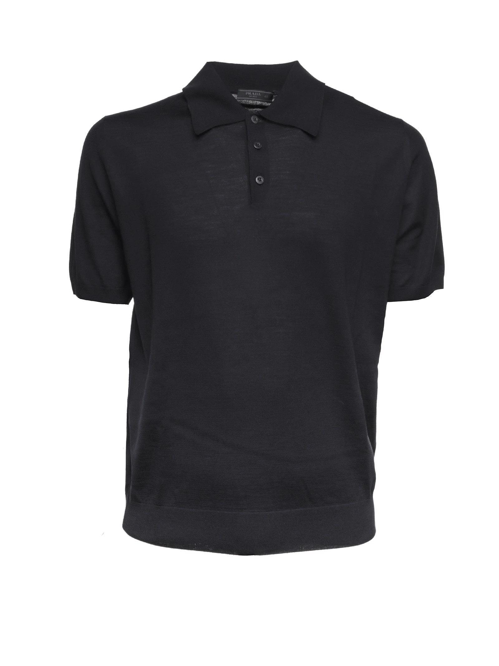Prada Prada Wool Polo Shirt