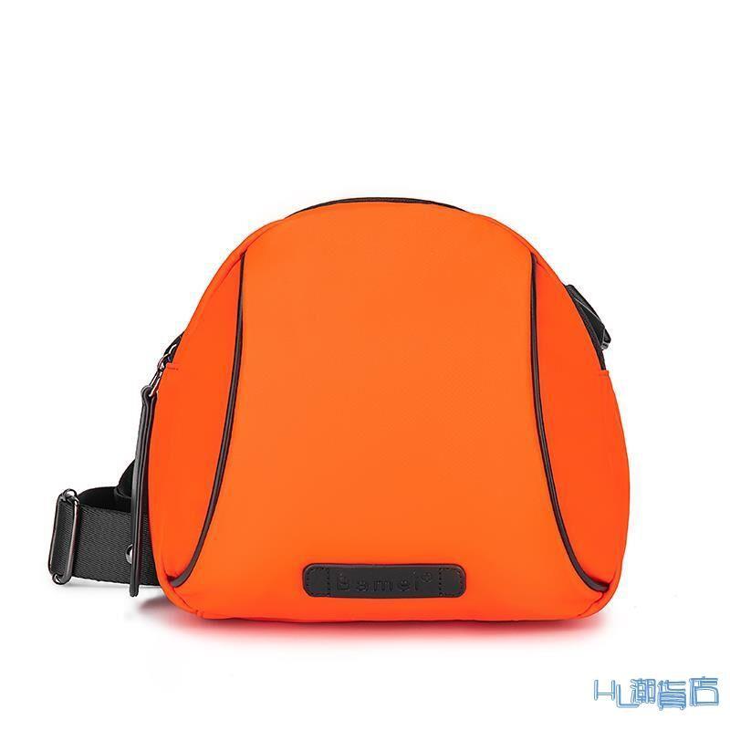 媽媽包/媽咪包 自制包包新款2021夏季潮范彩色貝殼女包牛津布媽咪包單肩斜挎包『HL821』