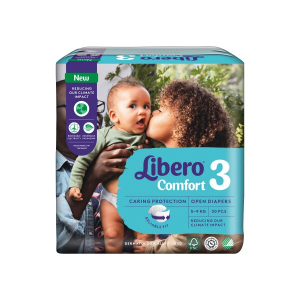 Libero 麗貝樂 黏貼紙褲-3號(M-30片)【悅兒園婦幼生活館】【618購物節】