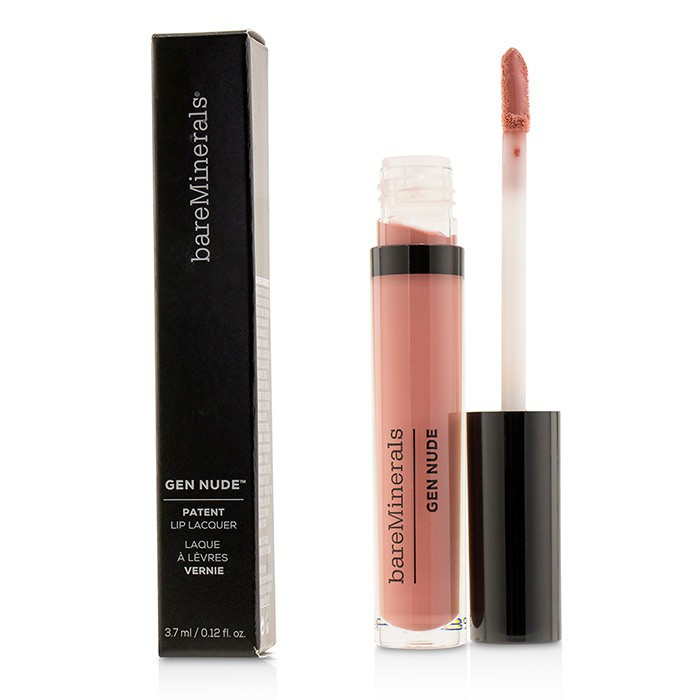 BAREMINERALS - 礦物3D豐唇液質唇膏Gen Nude Patent Lip Lacquer