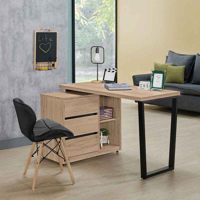 【GB519-3】祖克柏4尺組合書桌(全組)