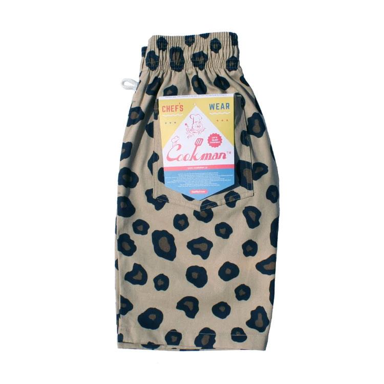 Cookman USA 231-83997 Chef Short Pants 廚師短褲 / 休閒短褲 (大豹紋)