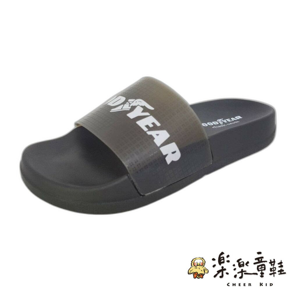 【樂樂童鞋】GOODYEAR果凍Q彈拖鞋-粉 - 拖鞋 大童拖鞋 親子鞋 室內鞋 沙灘鞋 現貨 固特異