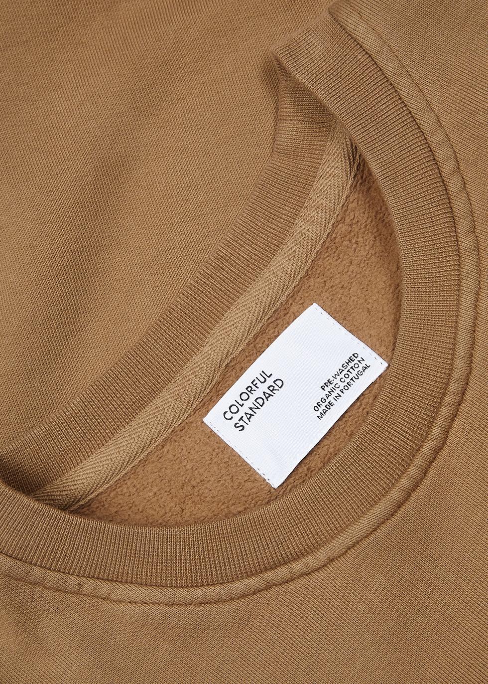 Olive cotton sweatshirt