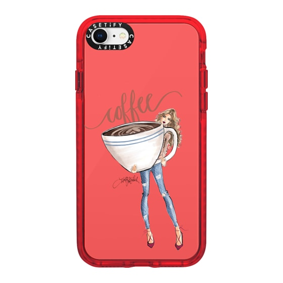 CASETiFY iPhone SE (2020) Impact Case - Coffee Girl (Blonde)