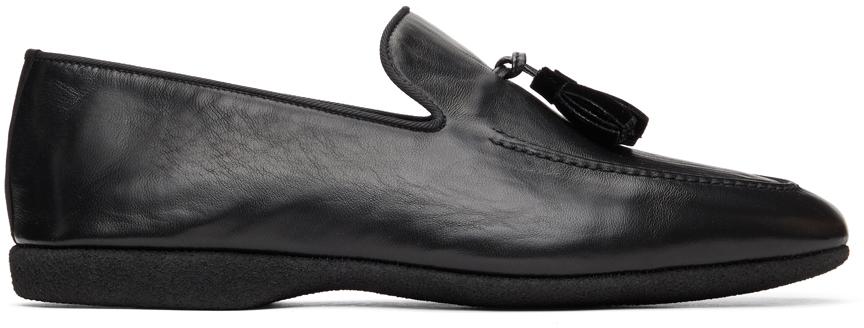 Paul Stuart 黑色 Hope 乐福鞋