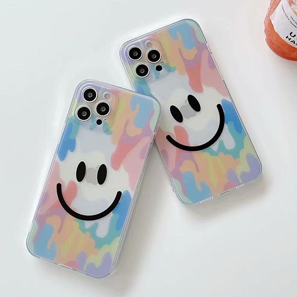 蘋果 iPhone12 Pro Max iPhone11 XS Max XR iPhone8 SE 2020 手機殼 街頭微笑 蘋果手機殼 保護殼