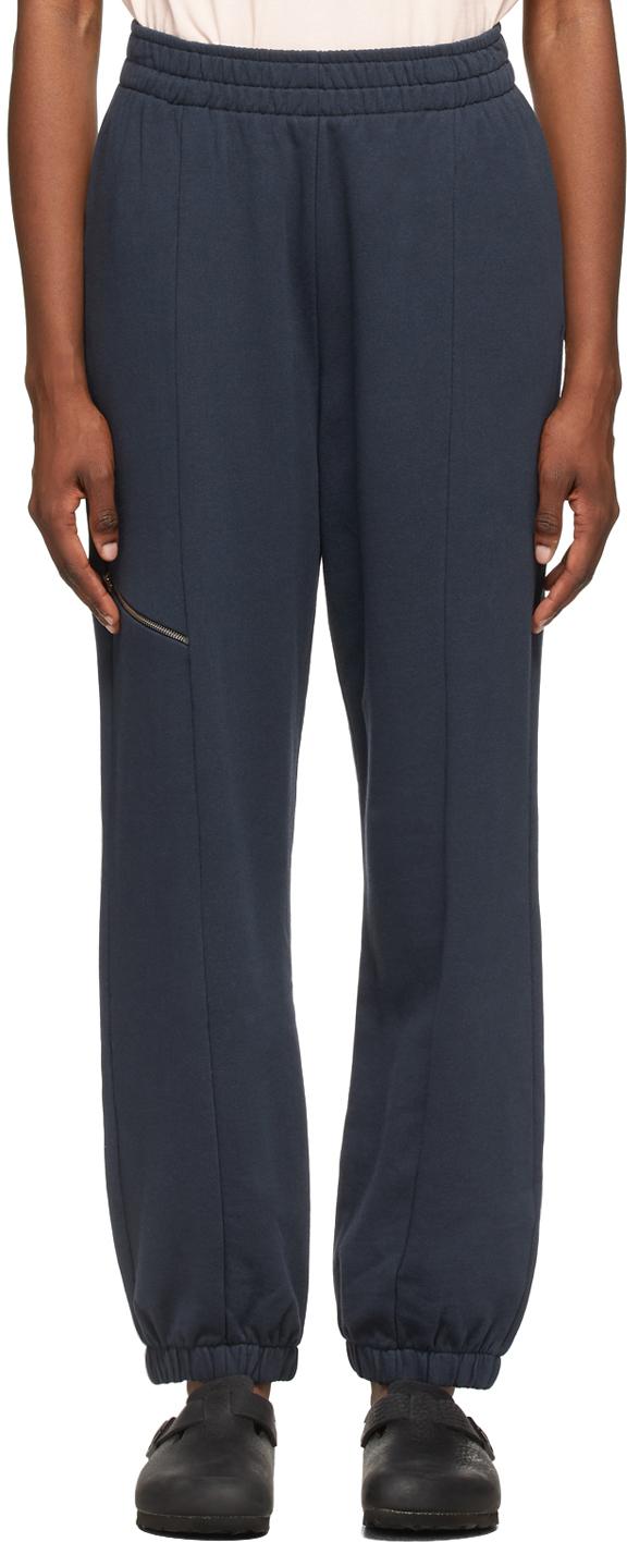 YMC 海军蓝 Wenlock 运动裤