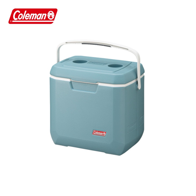 【COLEMAN】薄霧藍手提冰箱-26L CM-38452