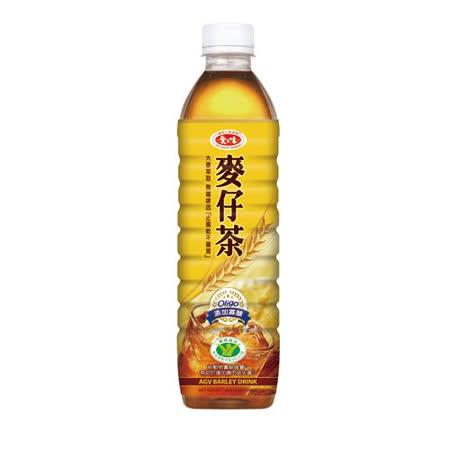 愛之味麥仔茶590ml*4