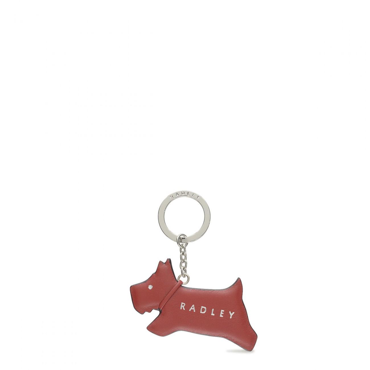 Jump Radley Leather Keyring