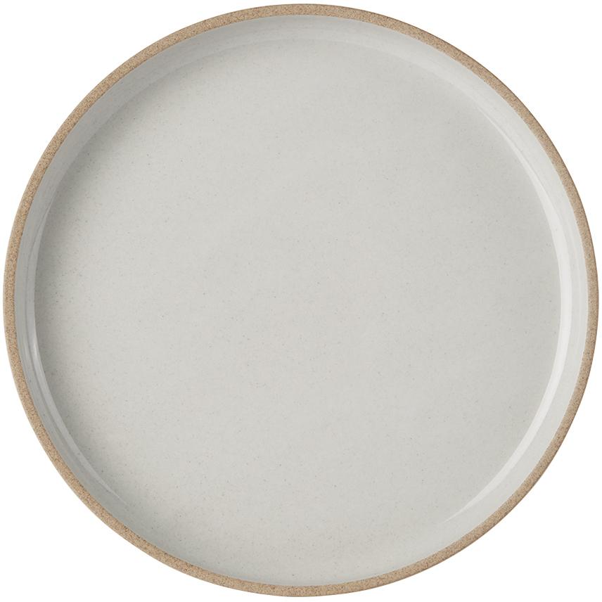 Hasami Porcelain 灰色 HPM003 餐盘
