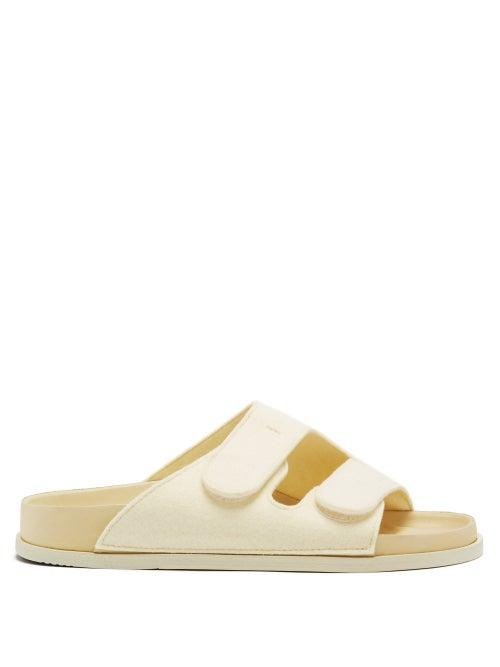 Birkenstock X Toogood - The Forager Wool-felt Sandals - Womens - Cream