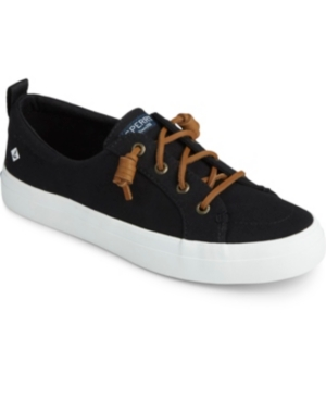 Sperry Women's Crest Vibe Memory-Foam Lace-Up Fashion Sneakers Women's Shoes