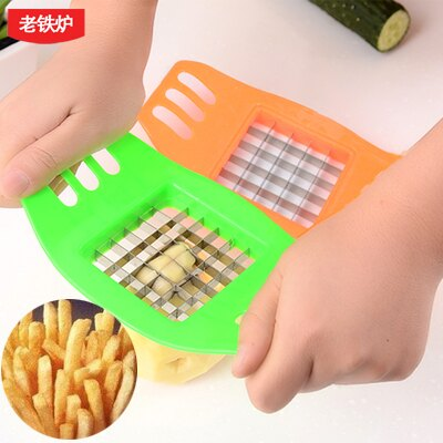 薯條切條機 創意家居馬鈴薯切條器切薯條器新款做薯條的切馬鈴薯條切條薯條機【AA672】