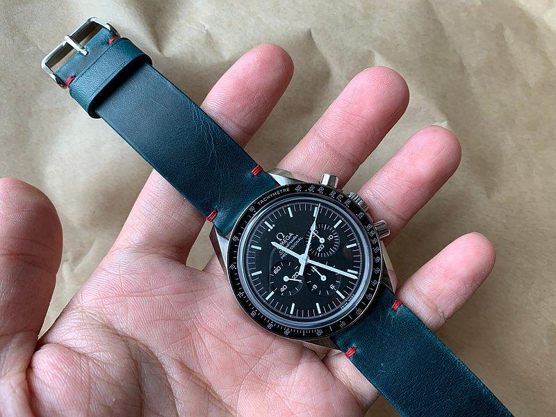 油蠟皮革錶帶 簡約款 皮革錶帶 手工錶帶 客製化錶帶 錶帶訂製