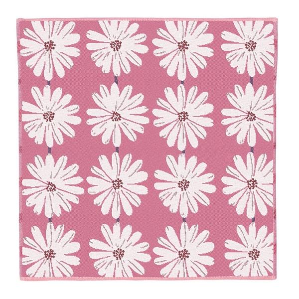 【日本製】【Pocchi】今治毛巾 手帕巾 三層紗質 白花圖案 SD-4063 - 日本製 今治毛巾