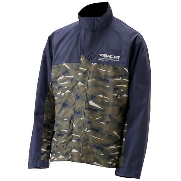 RS TAICHI 成套 雨衣 RSR048 雨褲 附收納袋 高透氣【立昇現貨|滿額贈|加價購】綠迷彩