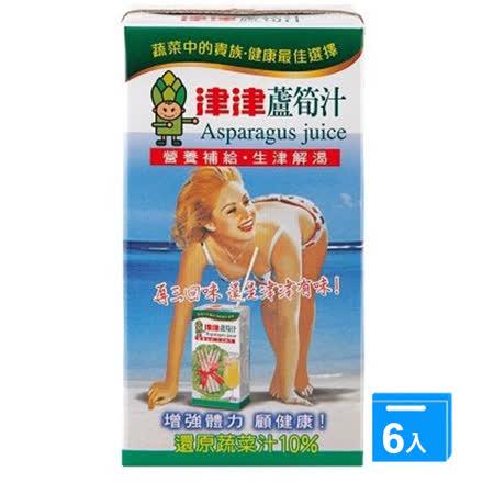 津津蘆筍汁300ML  x 6
