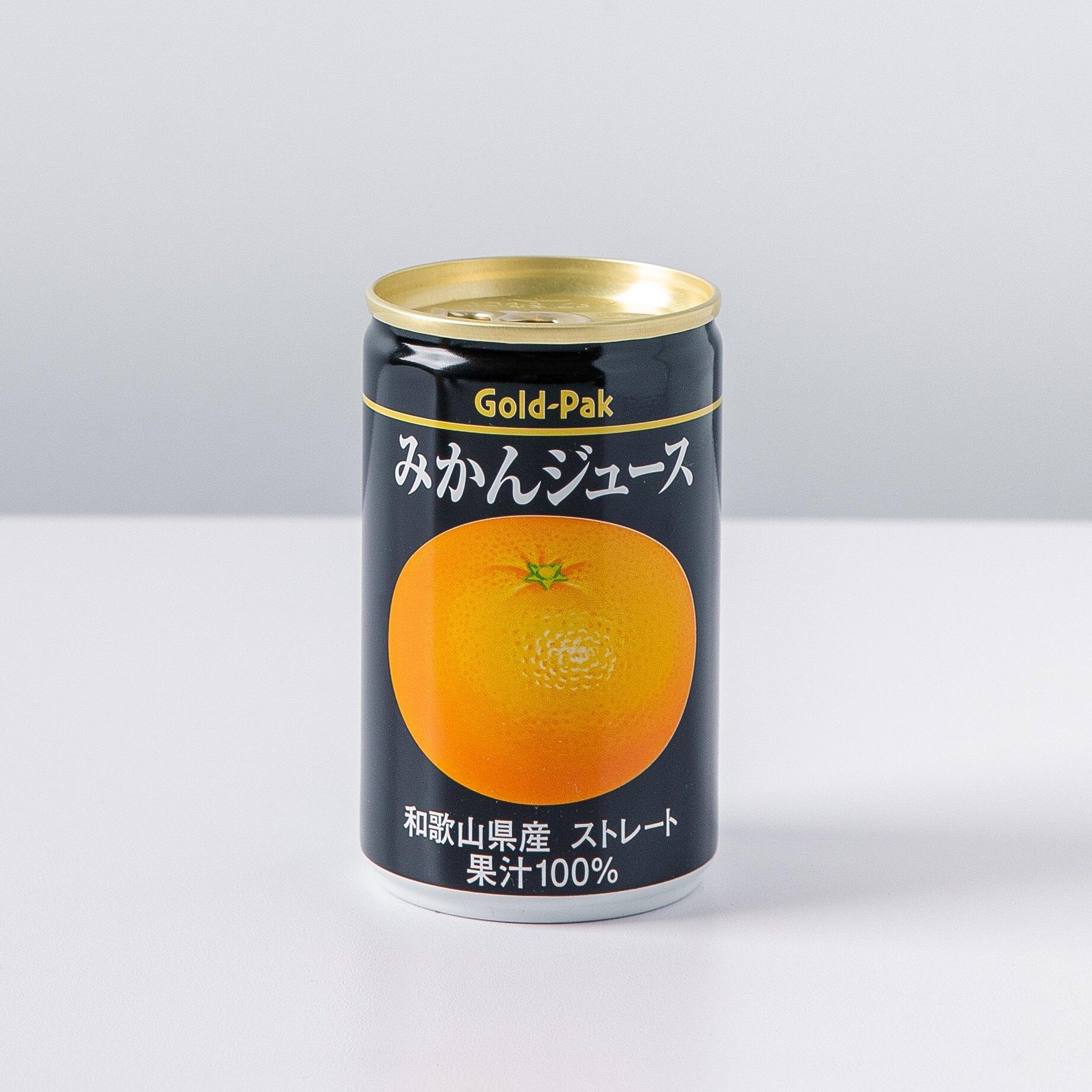 日本Gold-pak的和歌山蜜柑果汁160ml