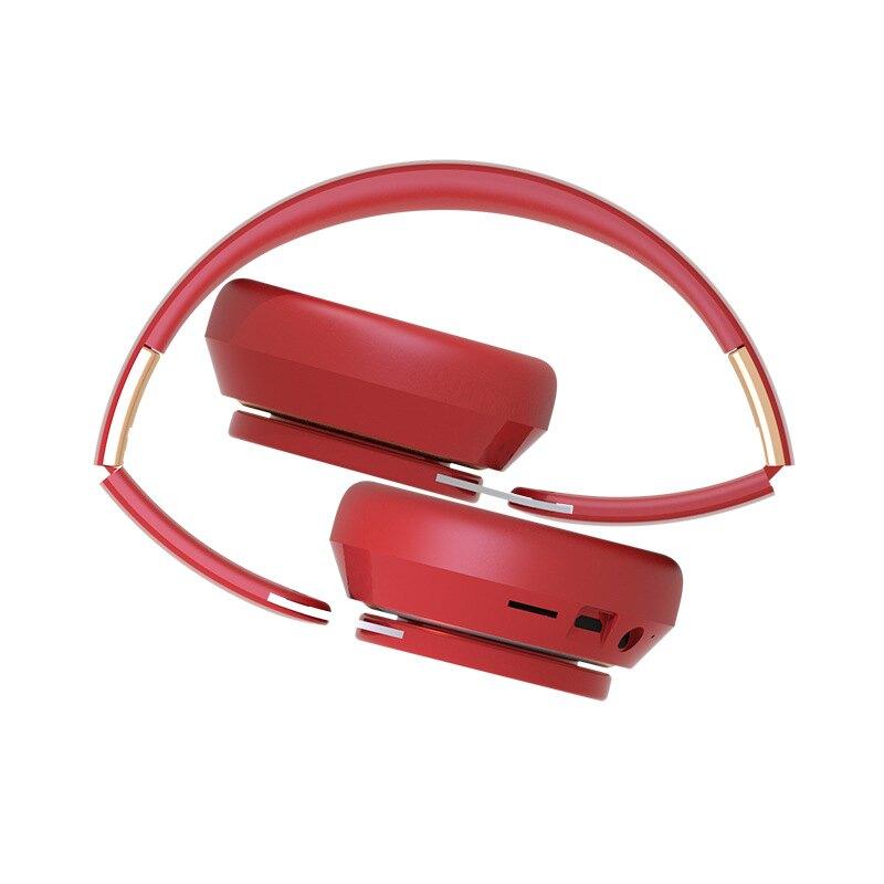 工廠直供5.007S頭戴式藍牙耳機運動折疊伸縮電腦游戲全包耳麥