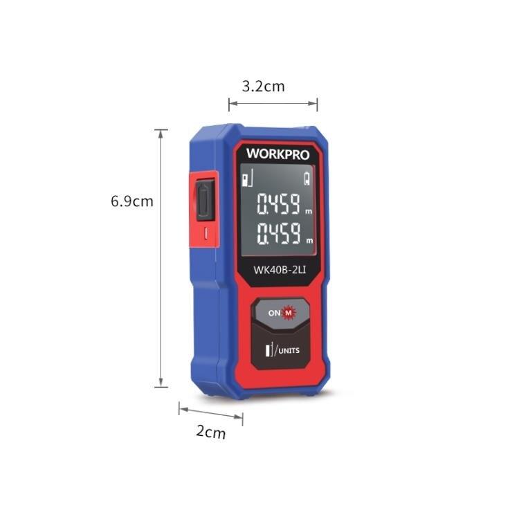 迷你紅外線測量儀器電子尺激光尺測距儀手持量房 迷你高精度 小型