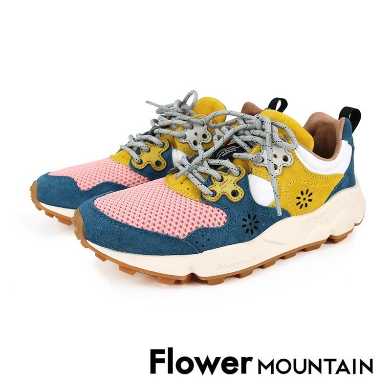 【FLOWER MOUNTAIN】山野系列多彩休閒鞋 FM2103-205 - 藍色\女 - 原價5800元