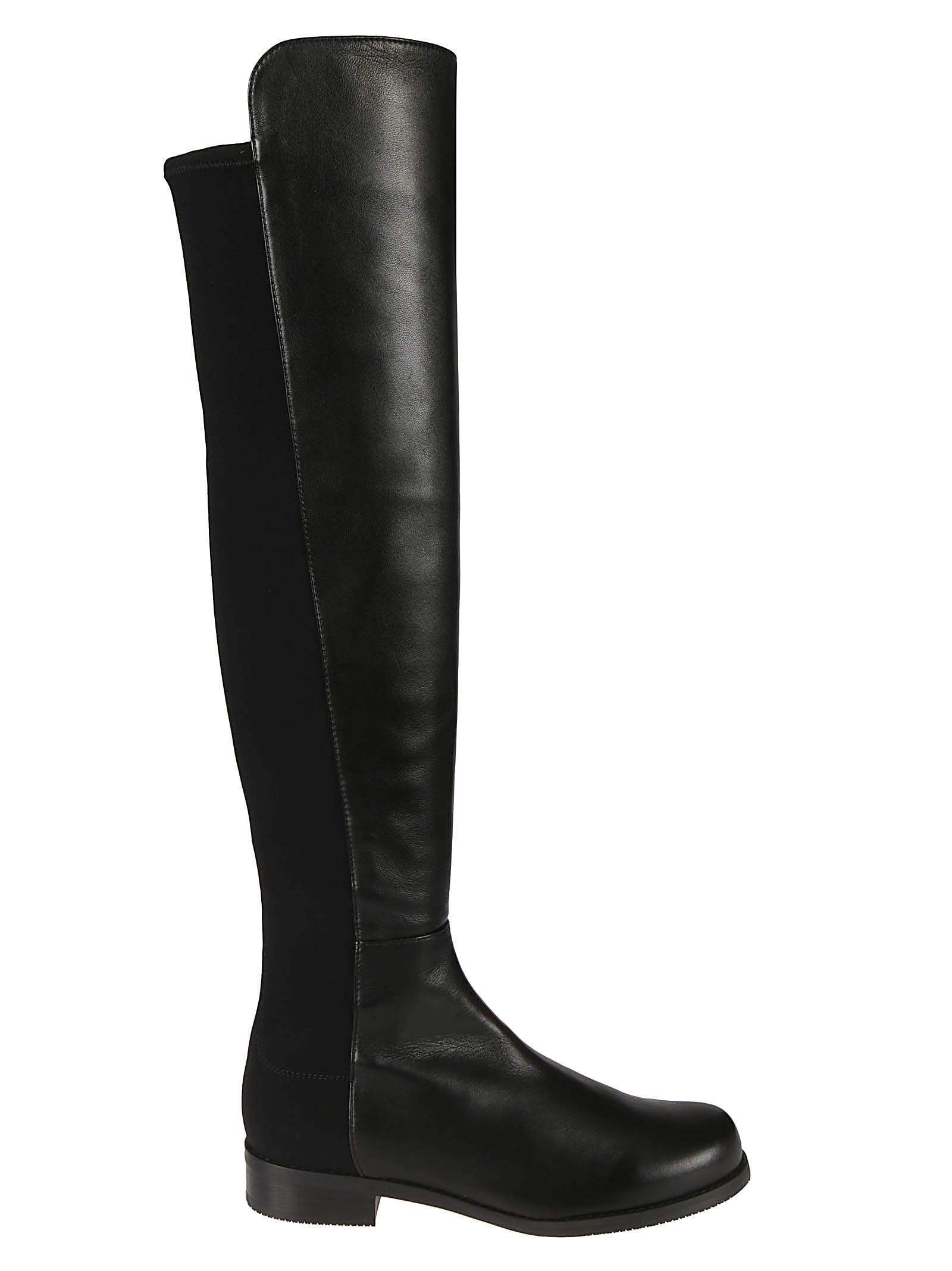 Stuart Weitzman Gabardine Boots